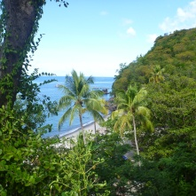 Anse Chantaset - walk up view
